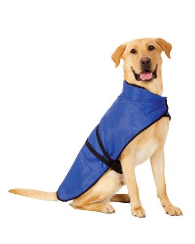Essential Blanket Dog Coat - Fashion Pet Essential Blue Blanket Coat for Dogs, Medium