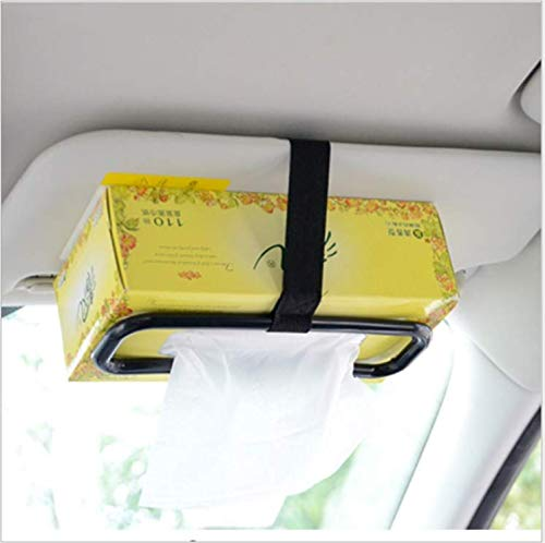Porta fazzoletti ANNIUP Supporto Portatile per Parasole 2 Porta fazzoletti per Aletta dell/'Auto Porta fazzoletti da Appendere al Sedile Posteriore