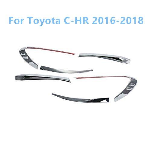 ABS Chromé arrière Tail Light Lampe Garniture décorative Coque 6pcs pour accessoire Auto Tychr16 YUZHONGTIAN Auto Trims Co. Ltd