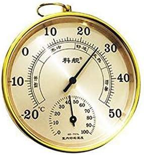 QIANZICAI 温度計、デジタル温度計、屋内ドライとウェット温度計、オフィスホーム屋内と屋内デスクトップウォールマウント、垂