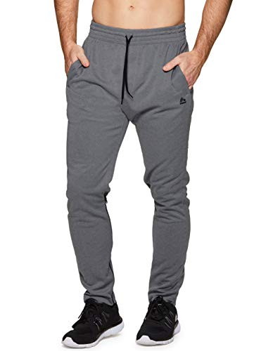 RBX Active Men's Workout Running Jogger Sweatpant Charcoal S
