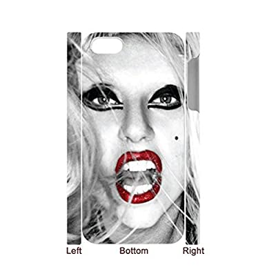 Generic Smart Design Back Phone Case For Girl Custom Design With Lady Gaga For iphone 6 6s Full Body Choose Design 1-3