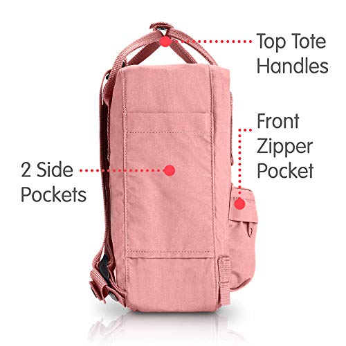 Fjallraven - Kanken Mini Classic Backpack for Everyday, Pink