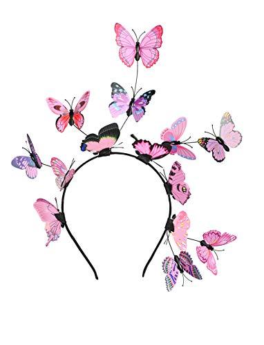 Butterfly Fascinator Hat Monarch Derby Headband Festival