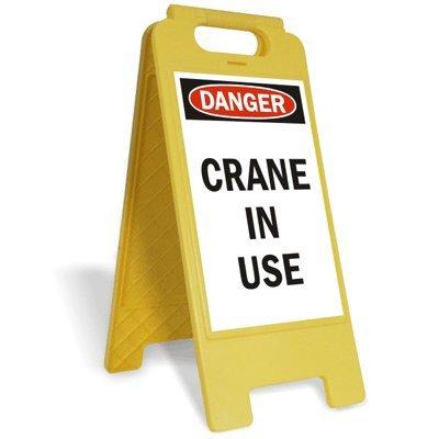 Folding Floor Crane (SmartSign Folding Floor Sign, Legend
