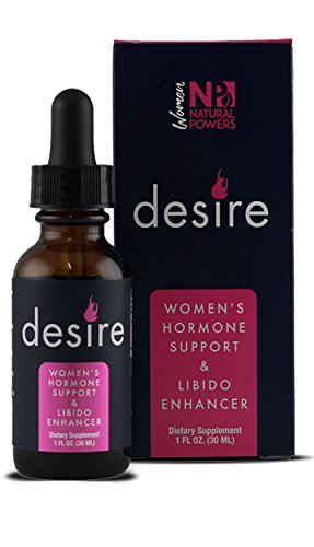Desire | Women's Libido Enhancer | 100% Natural Supplement | Clinically Proven to Boost Sexual Drive, Increase Lubrication & Enhance Stimulation | Maca, Horny Goat Weed, Ashwagandha & More | ()