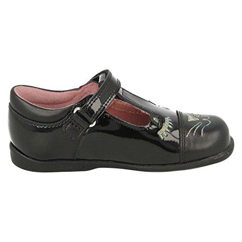 s Schule Patent Black nbsp;Cat Schuhe Leather Schnurrbarthaare nbsp;– Schlepplift Mädchen Startrite 1EqYwO