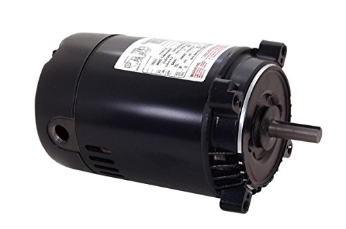Century K1150 NEMA-C Face Single Phase Jet Pump - Shaft Pump Motor Pool Keyed