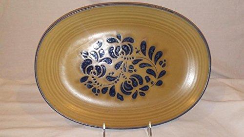 [Pfaltzgraff Blue Folk Art Platter, Pfaltzgraff platter, Pfaltzgraff Folk Art] (Art Platter)