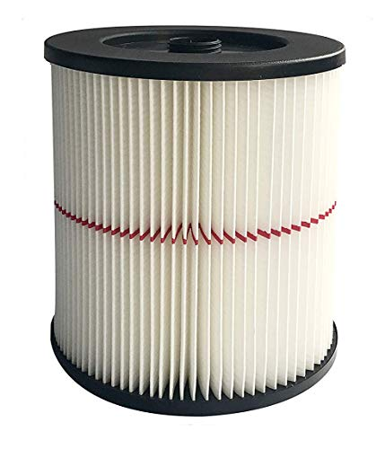 (Nispira Replacement HEPA Filter Compatible with Craftsman Wet/Dry Vacs Vacuum. Compared to Part 9-17816. 1 Filter)