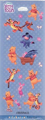 er Piglet Eeyore Scrapbook Stickers (90288) ()