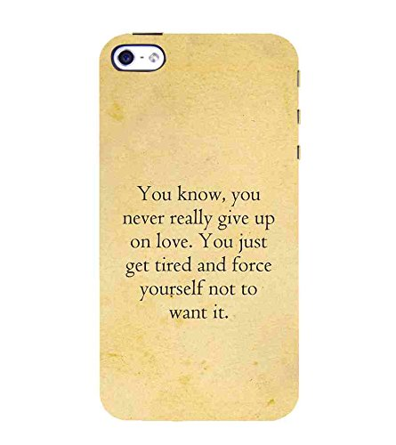 For Apple Iphone 4s You Know You Never Really Give Up Amazonin
