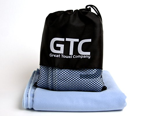 Country Instant Hot Only Water (Great Towel Company (GTC) Microfiber Quick Dry Sports and Travel Towel - XL 52
