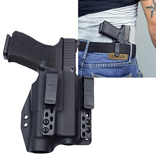 Bravo Concealment: Glock 19 23 32 TLR1-HL IWB DOS-Light Bearing Gun Holster