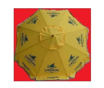 LANDSHARK LAGER BEER PATIO UMBRELLA MARKET STYLE NEW