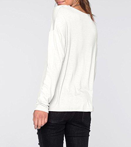 Damen Langarm Shirt in Gr. 32 34 XS Indigo Blau Sweatshirt 911665