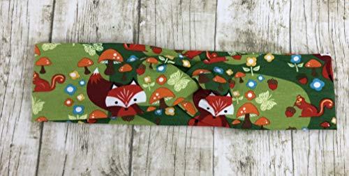 Acorn Valley, Fox, Green, Faux Turban, Headband, New
