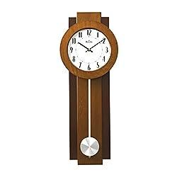 Bulova Avent Pendulum Deco Wall Clock, 18, White