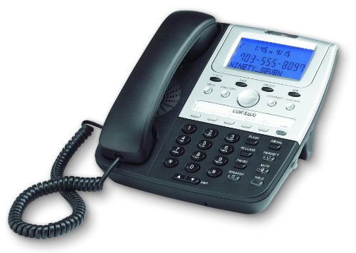 7 Series Single Line Caller ID Telephone Black ()