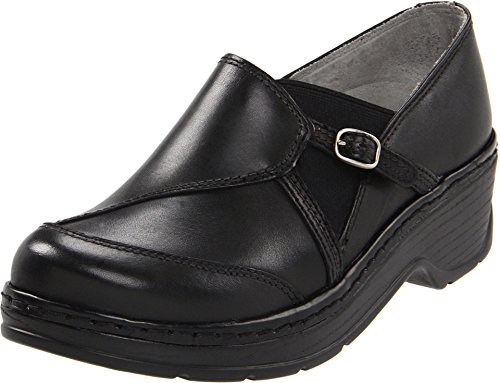 Klogs USA Womens Camd Black Smooth Clog 7 M (C)