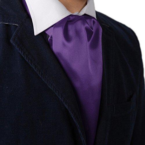 Dan Smith DRA7E01H Blue Violet Solid Mens Boyfriend