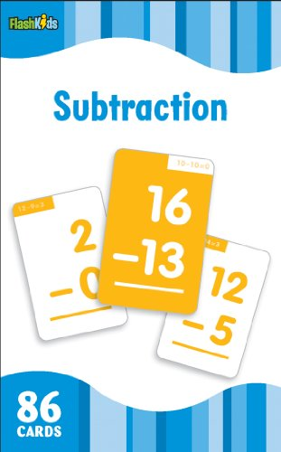 Subtraction (Flash Kids Flash Cards) (Addition And Subtraction Problems For 2nd Graders)