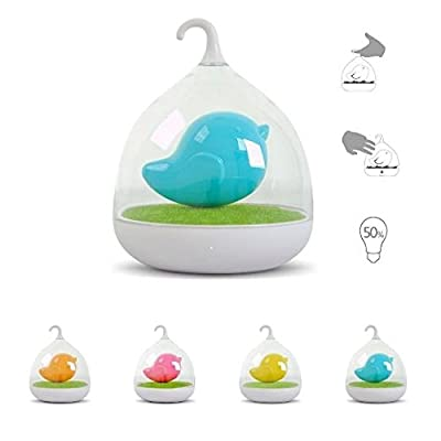 Blue Led Night Light with Usb Charger Soft Comforting Glow To Help Your Baby Fall Asleep Faster