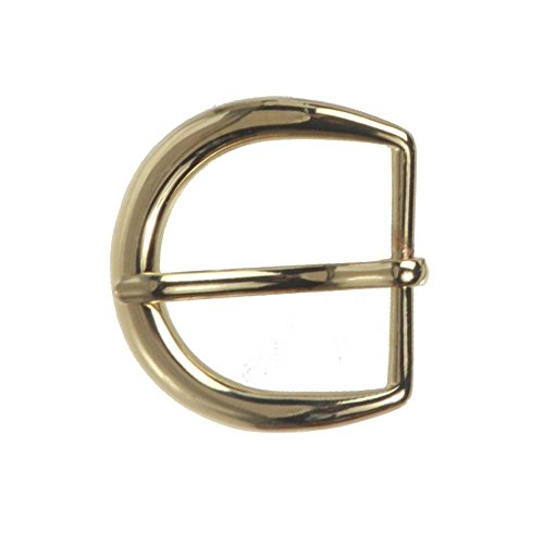 "1 1/8"" (30 mm) Nickel Free Single Prong Horseshoe Belt Buckle Color: Gold from beltiscool"