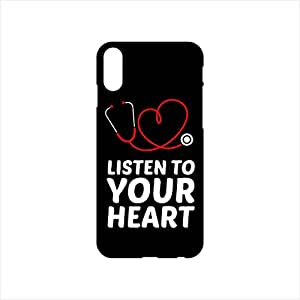 Fmstyles - iPhone X Mobile Case - Listen to your heart Doctor