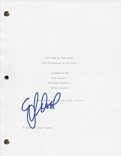 Elijah Wood Autographed Signed Movie Script Screenplay LOTR