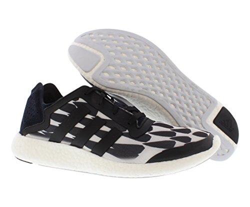 Zapatillas De Running Adidas Pure Boost Para Hombre Blancas / Negras / Grises