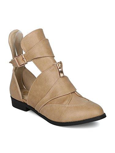 Ladies Moto Boots - 2