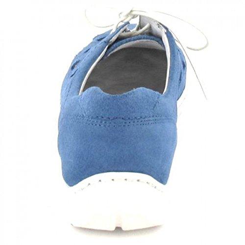 blau Henni Schnürer sportlicher Farbe Waldläufer 7vUqa