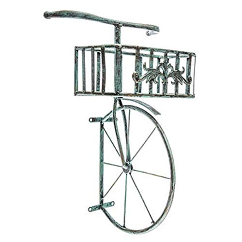 - Blue Bicycle Front End Basket Decor