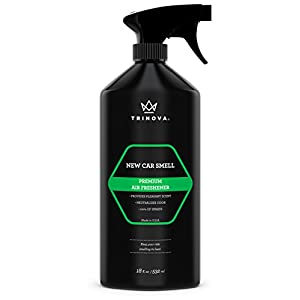 TriNova New Car Smell Air Freshener - Deodorizer Spray and Odor Eliminator Fresh Scent, Best for Cars or Trucks. 18oz