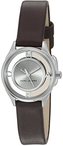 Marc Jacobs Women's Tether Burgundy Leather Watch - MJ1461