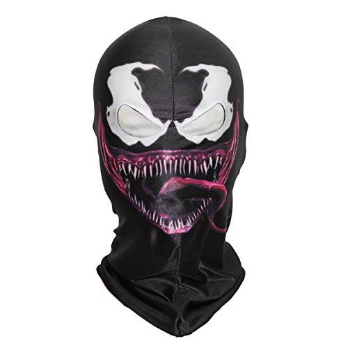 Venom Overhead Mask Halloween Costume Cosplay Adult Teens (Venom 2)