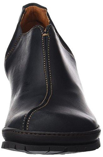 Art Zapatos Punta De Para black Negro Rustic Mujer Cerrada Con Black Tacón p5XwxX1rq