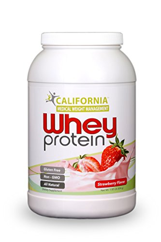 CMWM Whey Protein Strawberry Flavor, 1.85 Pounds