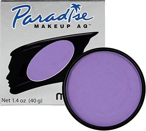 Mehron Makeup Paradise Makeup AQ Face & Body Paint (1.4 ounce) (Purple) -