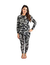 Plussize Ladies Grey Camouflage Tracksuit Joggers New Loungewear