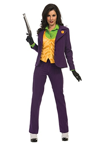 Batman Womens Premium Joker Costume (Female Joker Costumes Batman)