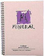 كشكول مينرال مسطر من مينترا- 100ورقة، 19×26سم