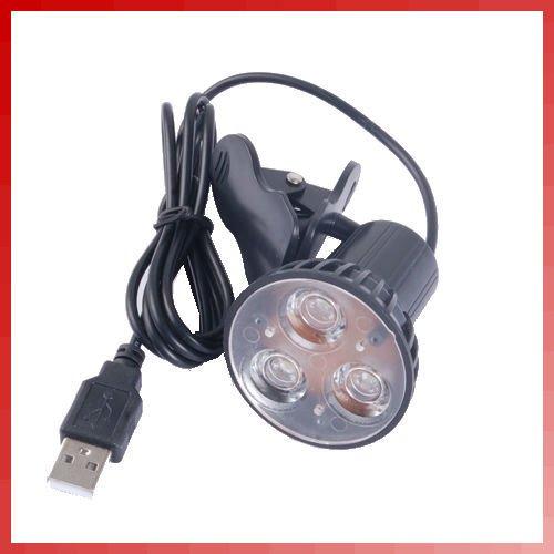 UPC 734026484086, Flexible Super Bright 3 LED Clip On Spot USB Light Lamp For Laptop PC Notebook