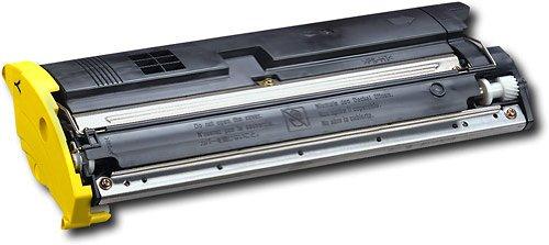 002 Yellow Laser Toner Cartridge - INKUTEN Replacement Konica-Minolta MagiColor 2200 1710471-002 Yellow Laser Toner Cartridge