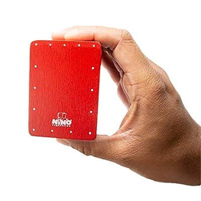 Nino Percussion NINO955R Mini Cajon Shaker, Red: Musical Instruments