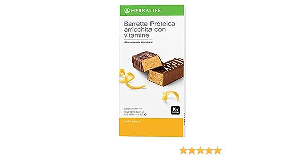 Herbalife - Barrita energéticas de limón, proteicas, para merendar y picar entre horas, adelgazantes