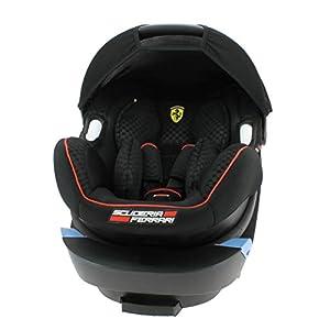 Siège auto Ferrari Officiel Groupe 0+ (0-13kg) -Ultra confort et installation rapide