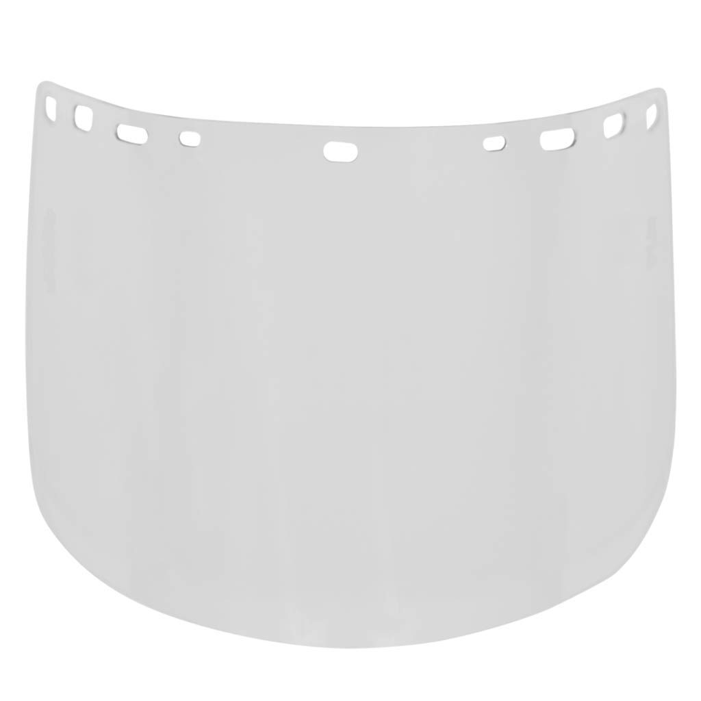 HFS2''Duo Safety'' Polycarbonate Face Shield - Pack of 20 - For Use With a Hard Hat and Bracket