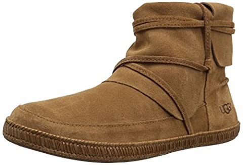 UGG Women's Reid Winter Boot, Chestnut, 7 M US - Faux Ugg Boots